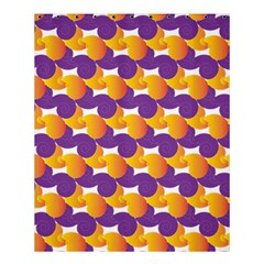 Purple And Yellow Abstract Pattern Shower Curtain 60  X 72  (medium)  by paulaoliveiradesign