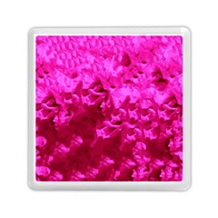 Hot Pink Floral Pattern Memory Card Reader (square)  by paulaoliveiradesign