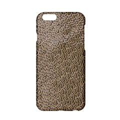 Animal Print Panthera Onca Texture Pattern Apple Iphone 6/6s Hardshell Case by paulaoliveiradesign