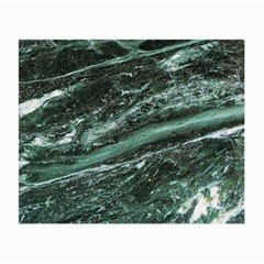 Green Marble Stone Texture Emerald  Small Glasses Cloth by paulaoliveiradesign