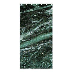 Green Marble Stone Texture Emerald  Shower Curtain 36  X 72  (stall)  by paulaoliveiradesign