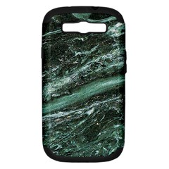 Green Marble Stone Texture Emerald  Samsung Galaxy S Iii Hardshell Case (pc+silicone)