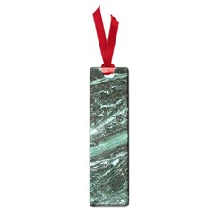 Green Marble Stone Texture Emerald  Small Book Marks by paulaoliveiradesign