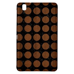 Circles1 Black Marble & Brown Wood Samsung Galaxy Tab Pro 8 4 Hardshell Case by trendistuff