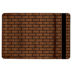Brick1 Black Marble & Brown Wood (r) Apple Ipad Air 2 Flip Case by trendistuff