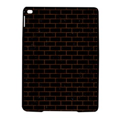 Brick1 Black Marble & Brown Wood Apple Ipad Air 2 Hardshell Case by trendistuff