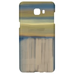 Denim Blue And Buttercream Samsung C9 Pro Hardshell Case