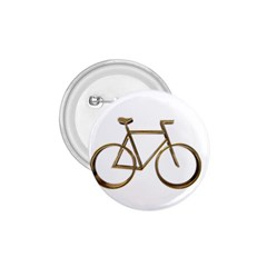 Elegant Gold Look Bicycle Cycling  1 75  Buttons by yoursparklingshop