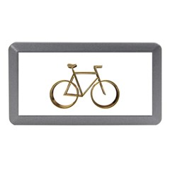 Elegant Gold Look Bicycle Cycling  Memory Card Reader (mini) by yoursparklingshop