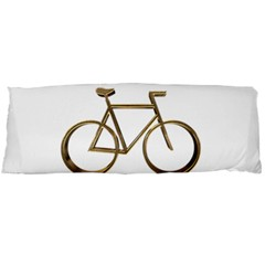 Elegant Gold Look Bicycle Cycling  Body Pillow Case (dakimakura) by yoursparklingshop