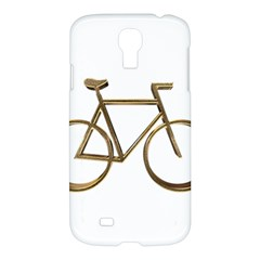Elegant Gold Look Bicycle Cycling  Samsung Galaxy S4 I9500/i9505 Hardshell Case by yoursparklingshop