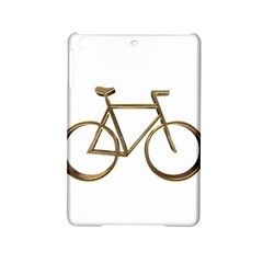 Elegant Gold Look Bicycle Cycling  Ipad Mini 2 Hardshell Cases