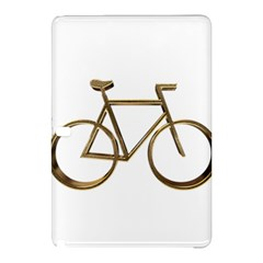 Elegant Gold Look Bicycle Cycling  Samsung Galaxy Tab Pro 12 2 Hardshell Case by yoursparklingshop
