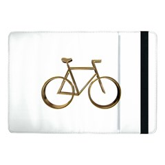 Elegant Gold Look Bicycle Cycling  Samsung Galaxy Tab Pro 10 1  Flip Case by yoursparklingshop