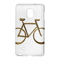 Elegant Gold Look Bicycle Cycling  Galaxy Note Edge by yoursparklingshop