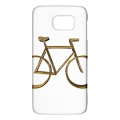 Elegant Gold Look Bicycle Cycling  Galaxy S6 by yoursparklingshop