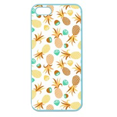 Seamless Summer Fruits Pattern Apple Seamless Iphone 5 Case (color) by TastefulDesigns