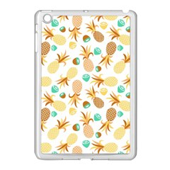 Seamless Summer Fruits Pattern Apple Ipad Mini Case (white) by TastefulDesigns