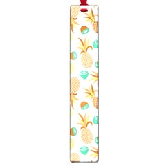 Seamless Summer Fruits Pattern Large Book Marks by TastefulDesigns