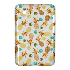 Seamless Summer Fruits Pattern Samsung Galaxy Tab 2 (7 ) P3100 Hardshell Case  by TastefulDesigns