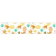 Seamless Summer Fruits Pattern Flano Scarf (small) by TastefulDesigns