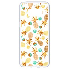 Seamless Summer Fruits Pattern Samsung Galaxy S8 White Seamless Case