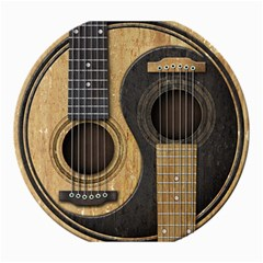 Old And Worn Acoustic Guitars Yin Yang Canvas 20  X 24
