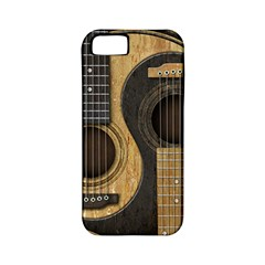 Old And Worn Acoustic Guitars Yin Yang Apple Iphone 5 Classic Hardshell Case (pc+silicone) by JeffBartels