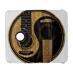 Old And Worn Acoustic Guitars Yin Yang Galaxy S3 (flip/folio) by JeffBartels