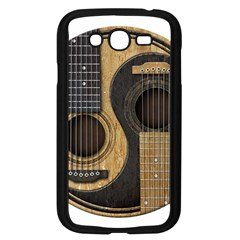 Old And Worn Acoustic Guitars Yin Yang Samsung Galaxy Grand Duos I9082 Case (black) by JeffBartels