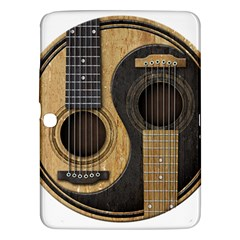 Old And Worn Acoustic Guitars Yin Yang Samsung Galaxy Tab 3 (10 1 ) P5200 Hardshell Case