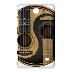 Old And Worn Acoustic Guitars Yin Yang Samsung Galaxy Tab 4 (8 ) Hardshell Case  by JeffBartels