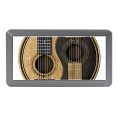 Old And Worn Acoustic Guitars Yin Yang Memory Card Reader (mini) by JeffBartels