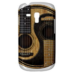 Old And Worn Acoustic Guitars Yin Yang Galaxy S3 Mini by JeffBartels