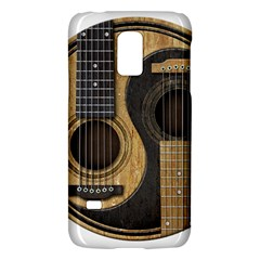 Old And Worn Acoustic Guitars Yin Yang Galaxy S5 Mini by JeffBartels
