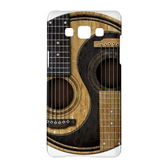 Old And Worn Acoustic Guitars Yin Yang Samsung Galaxy A5 Hardshell Case  by JeffBartels