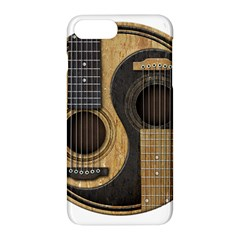 Old And Worn Acoustic Guitars Yin Yang Apple Iphone 7 Plus Hardshell Case