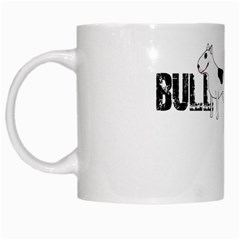 Bull Terrier  White Mugs