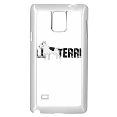 Bull Terrier  Samsung Galaxy Note 4 Case (white)