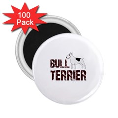 Bull Terrier  2 25  Magnets (100 Pack)  by Valentinaart