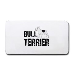Bull Terrier  Medium Bar Mats by Valentinaart