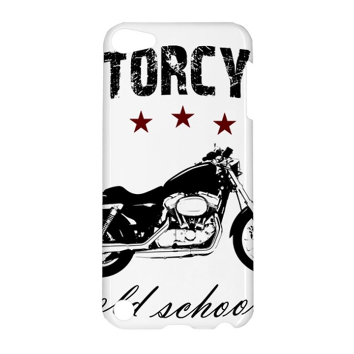 Motorcycle old school Apple iPod Touch 5 Hardshell Case