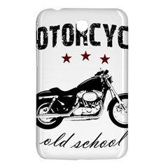 Motorcycle Old School Samsung Galaxy Tab 3 (7 ) P3200 Hardshell Case  by Valentinaart