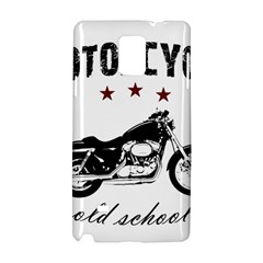 Motorcycle Old School Samsung Galaxy Note 4 Hardshell Case