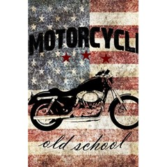 Motorcycle Old School 5 5  X 8 5  Notebooks by Valentinaart