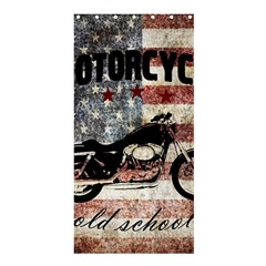 Motorcycle Old School Shower Curtain 36  X 72  (stall)
