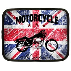 Motorcycle Old School Netbook Case (large)