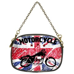 Motorcycle Old School Chain Purses (two Sides)  by Valentinaart