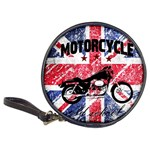 Motorcycle old school Classic 20-CD Wallets Front