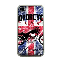 Motorcycle Old School Apple Iphone 4 Case (clear)